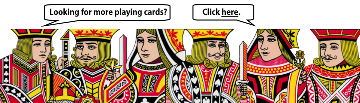 Looking for more playing cards ?